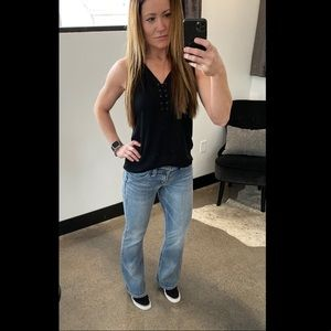 Silver SUKI 27/32 jeans Buckle boot cut